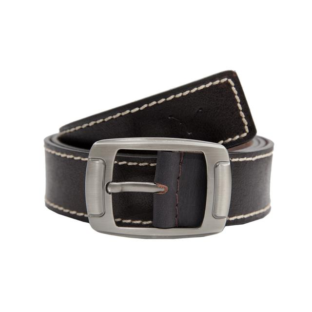 Hidekraft Genuine Leather Mens Casual Belt, BTMCAS0118 Brown