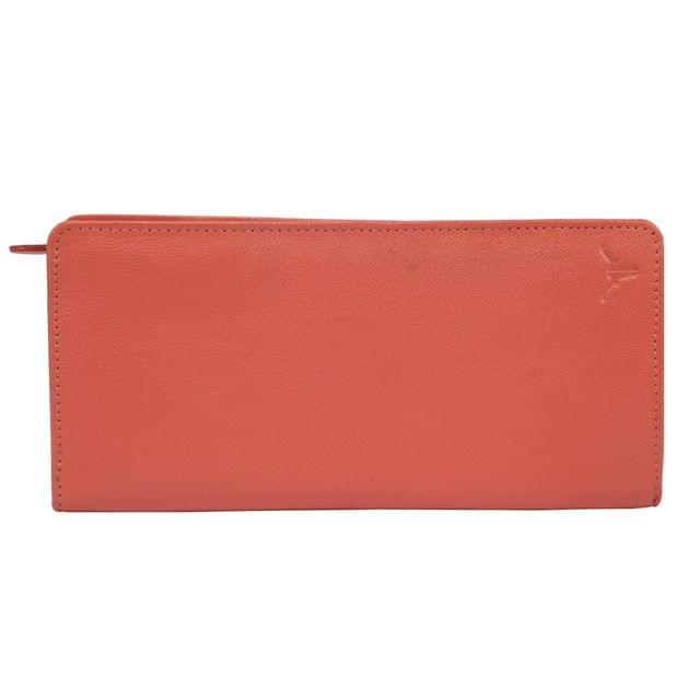 Hidekraft Genuine Leather  Women's Wallet, LDPEPU0426 Pink