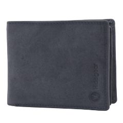 Hidegear Men's Vintage Leather Wallet, WLGYDU2010H Grey