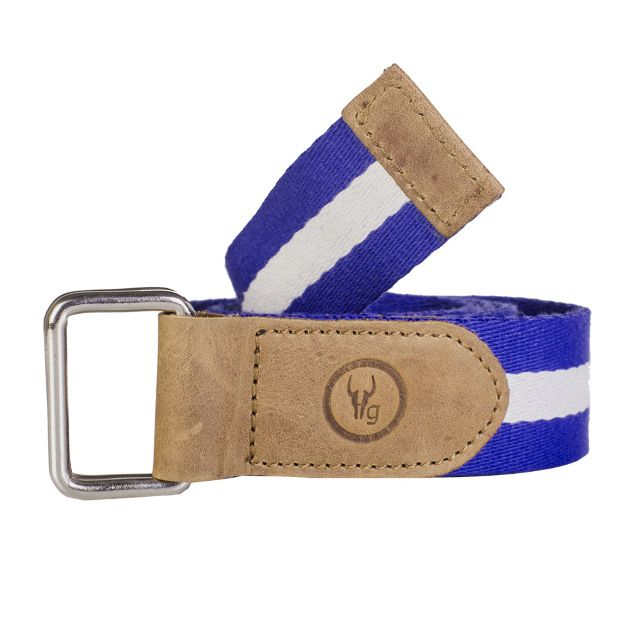 Hidegear Canvas-Leather Belt ,BTCTPR0100H Purple White