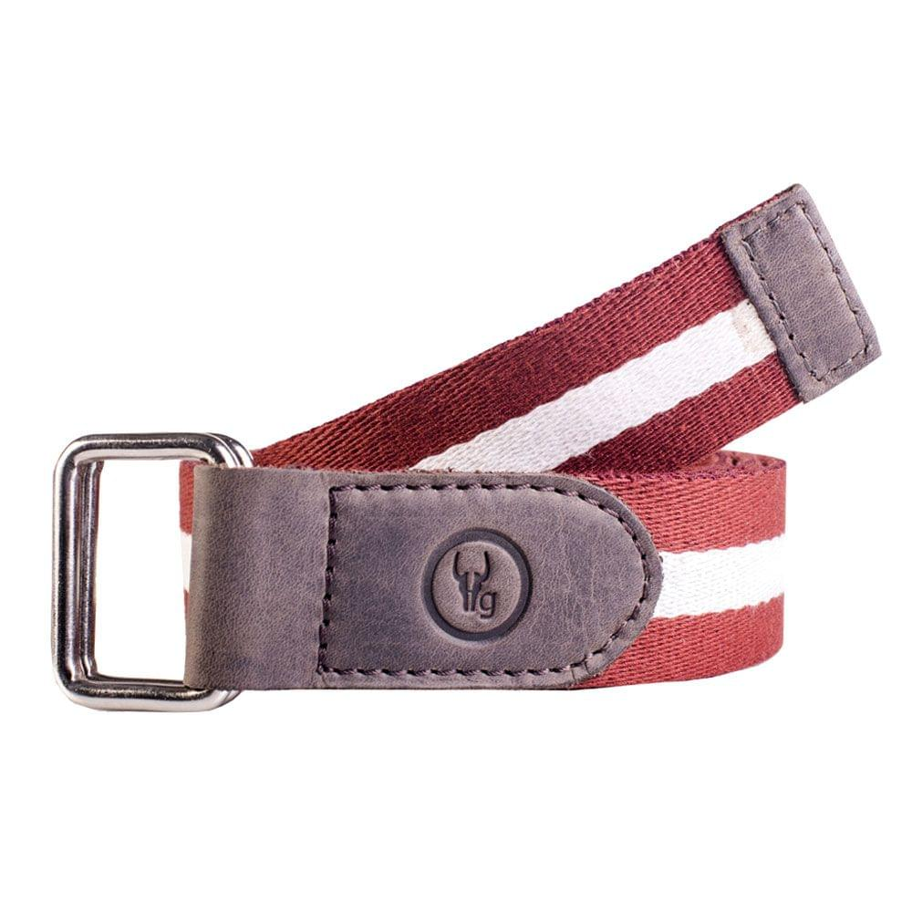 Hidegear Canvas-Leather Belt ,BTCTCG0101H Brown