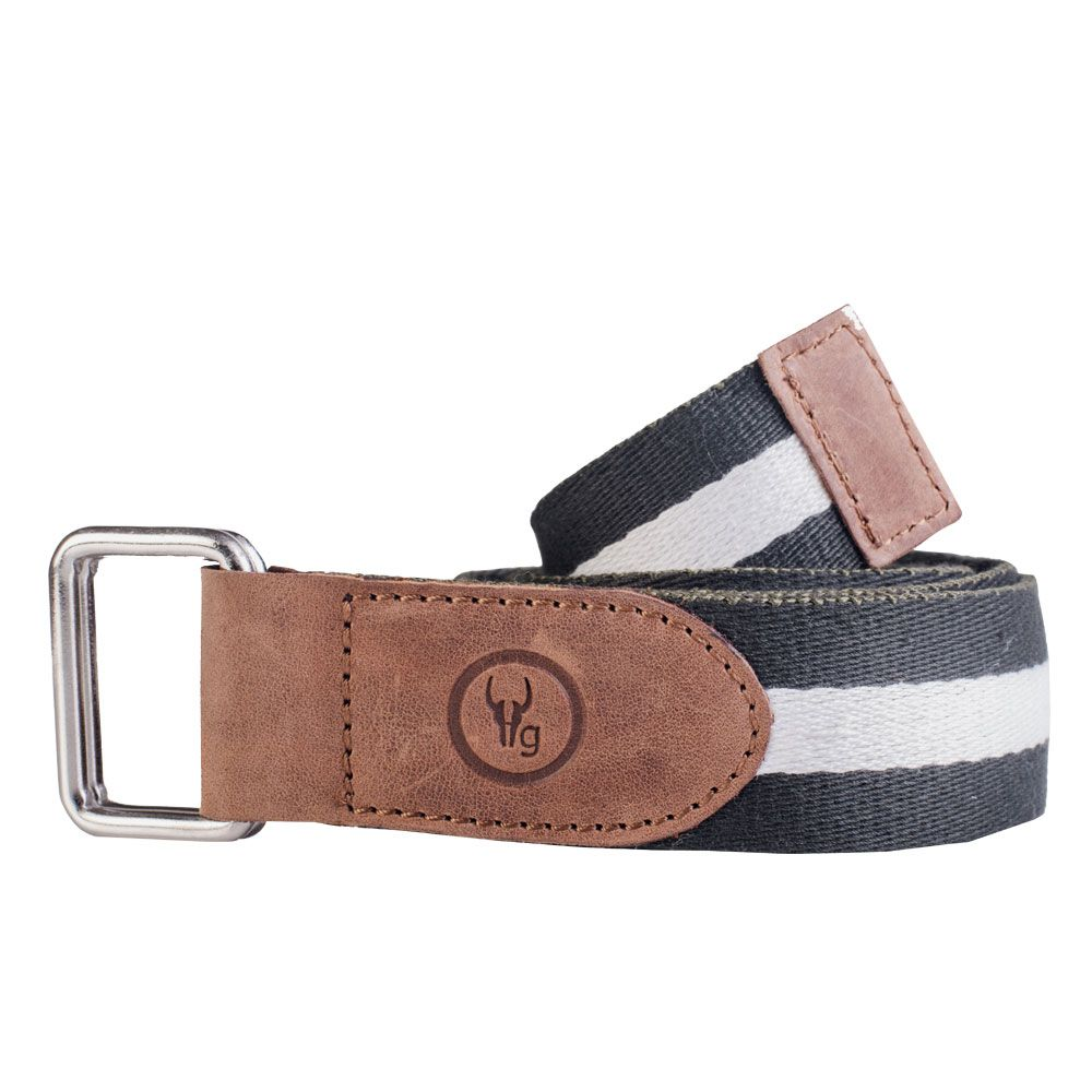 Hidegear Canvas-Leather Belt ,BTCTMG0102H Green