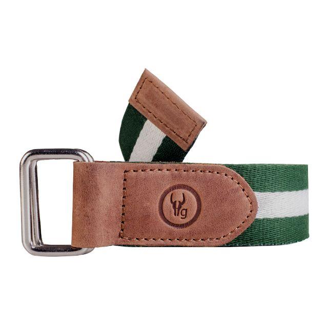 Hidegear Canvas-Leather Belt ,BTCTBG0105H Green