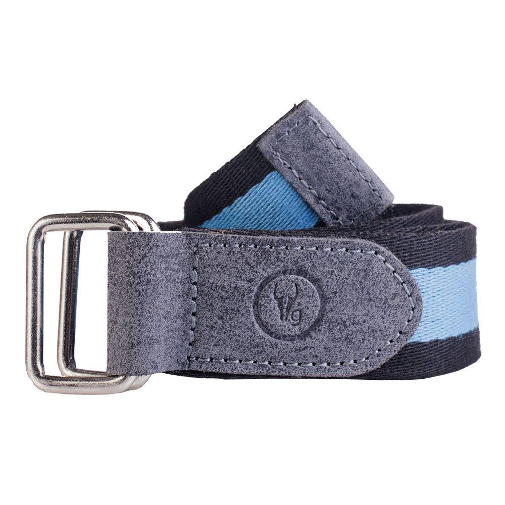 Hidegear Canvas-Leather Belt ,BTCTSB0104H Blue