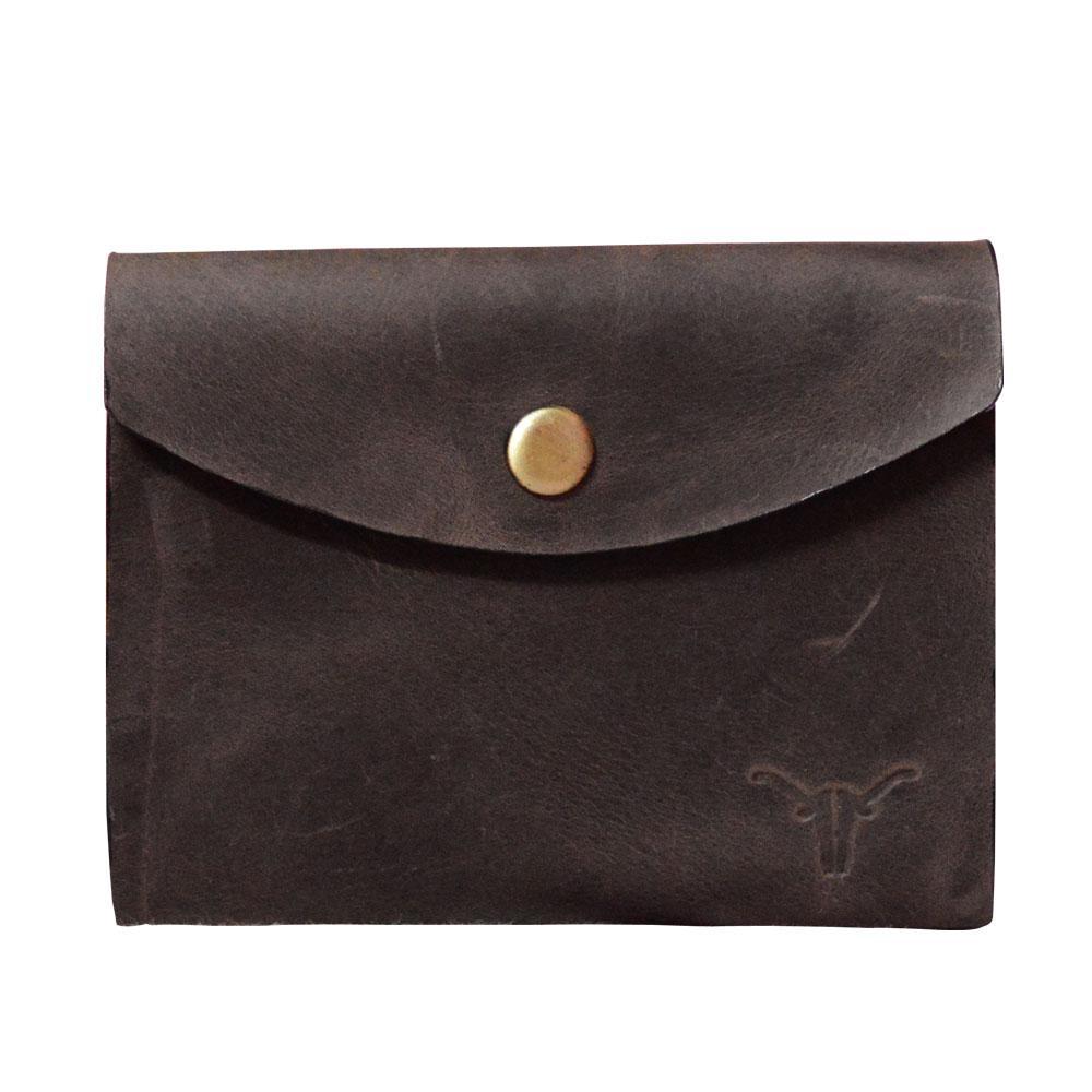 Hidekraft Leather Card Holder,CHBRPU0411 Brown