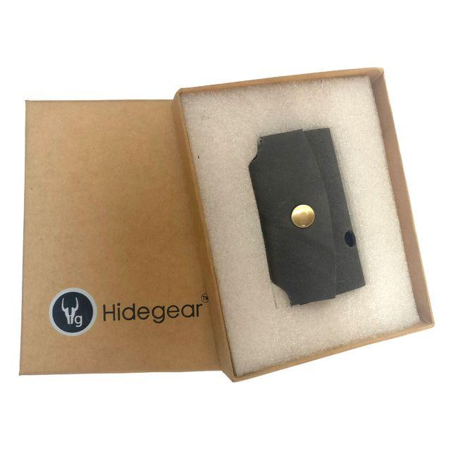 Hidegear Leather Earphone Holders , HGEHGY0201 Grey