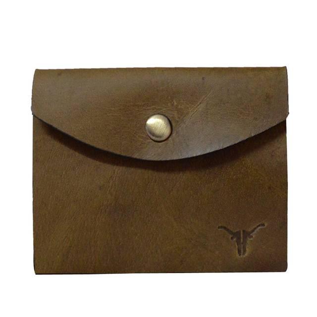 Hidekraft Leather Card Holder, CHOLPU0411 Olive