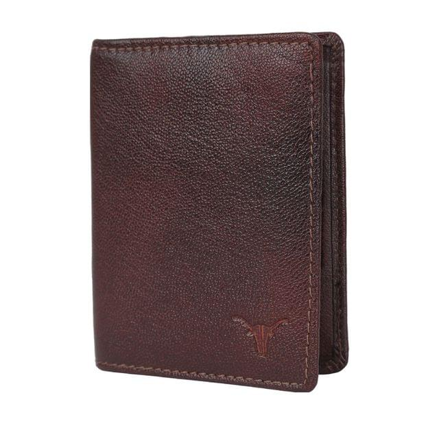 Hidekraft Leather Card Holder, CHBRPU0417 Brown