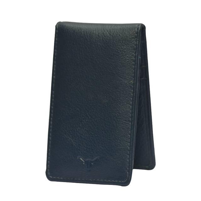 Hidekraft Leather Card Holder,CHNVPU0077, Navy