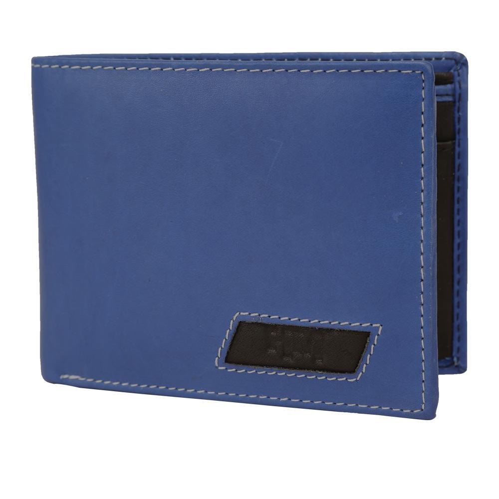 Hidemaxx Mens Leather Wallet ,WLINDU0733X Indigo