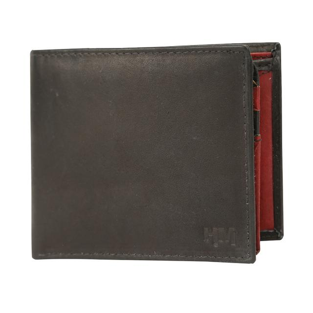 Hidemaxx Mens Leather Wallet, WLBLPU0723X Black