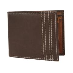 Hidemaxx Men's Leather Wallet, WLCBDU0734X Coffee