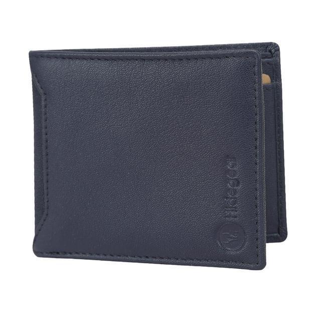Hidegear Leather Wallets For Men , WLNVPU2015H Navy