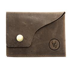 Hidegear Leather Card Holder ,CHBRPU2024H Brown