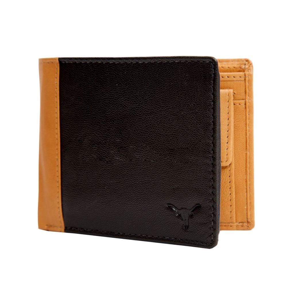 Hidekraft Leather Wallets For Men , WLTNDU1011G Tan