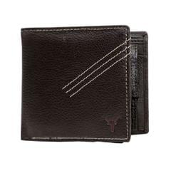 Hidekraft Leather Wallets For Men , WLBRDU1706 Brown