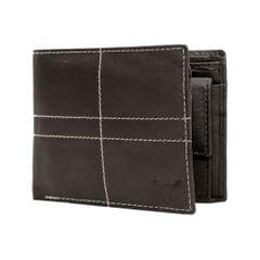 Hidekraft Leather Wallets For Men , WLBRDU1704 Brown