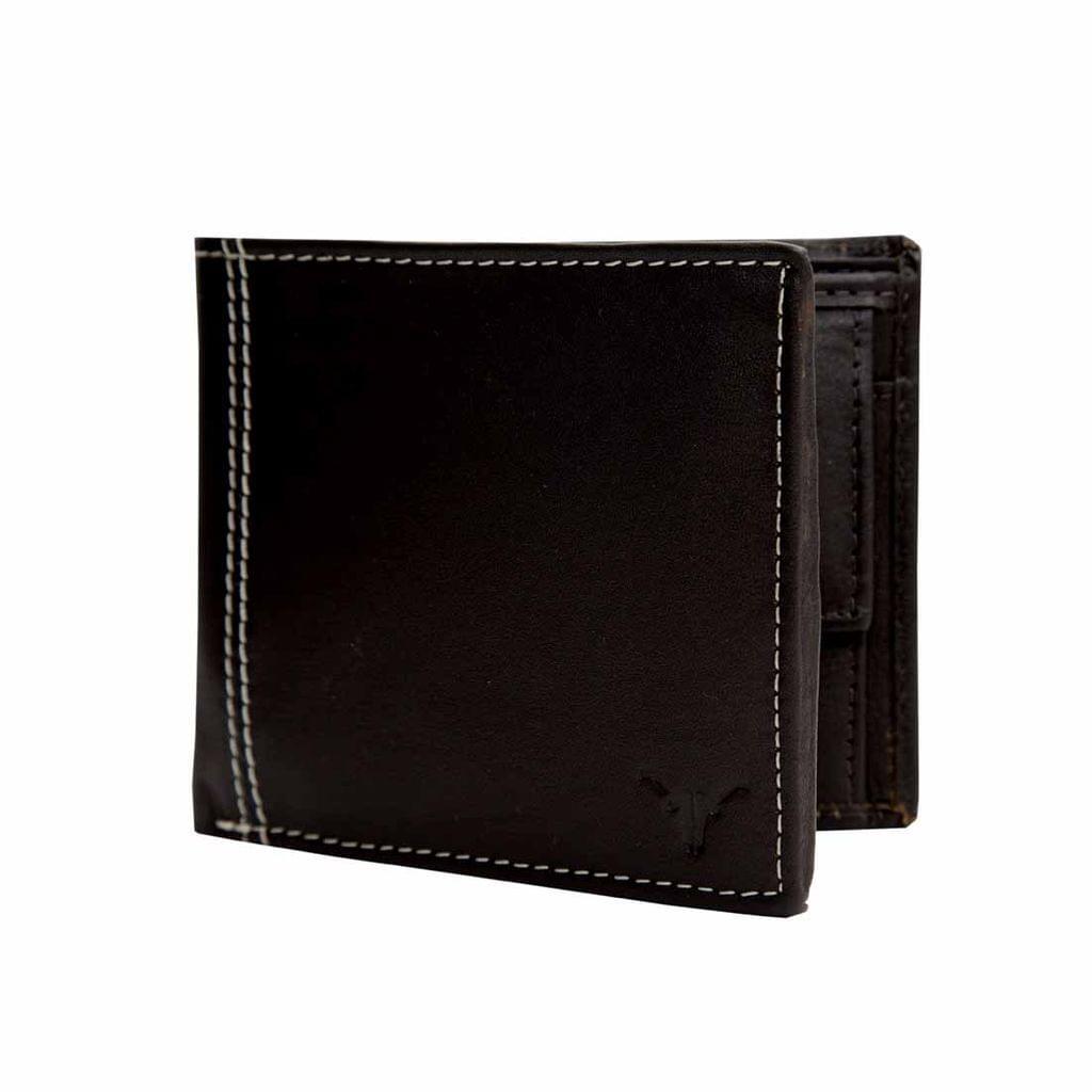Hidekraft Leather Wallets For Men , WLBRDU1707 Brown