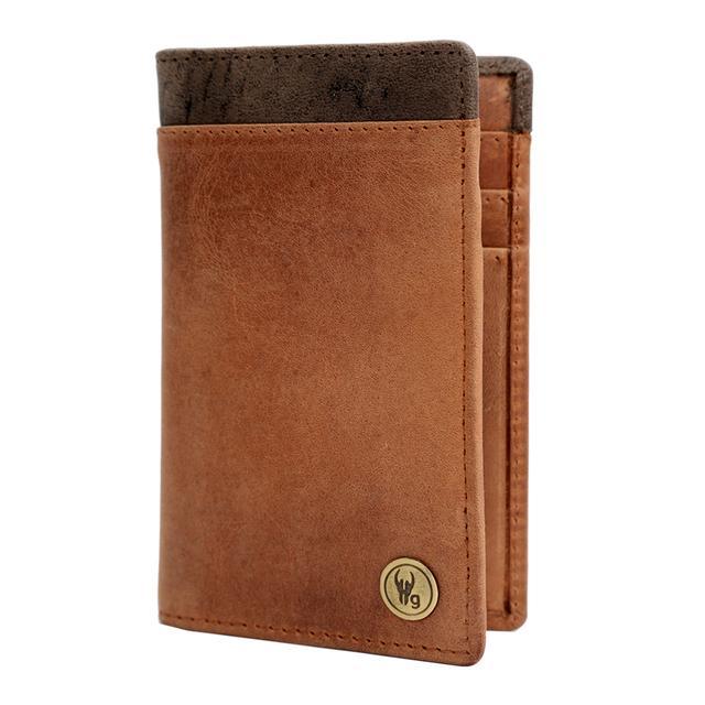 Hidegear Vintage Leather Card Holder ,CHTNDU2025H Tan