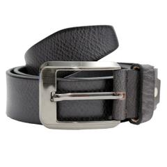 Hidekraft Genuine Leather Mens Casual Belt, BTCABL0101 Black