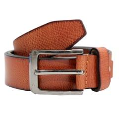 Hidekraft Genuine Leather Mens Casual Belt, BTCATN0101 Tan