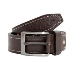 Hidekraft Genuine Leather Mens Casual Belt, BTCABR0102 Brown