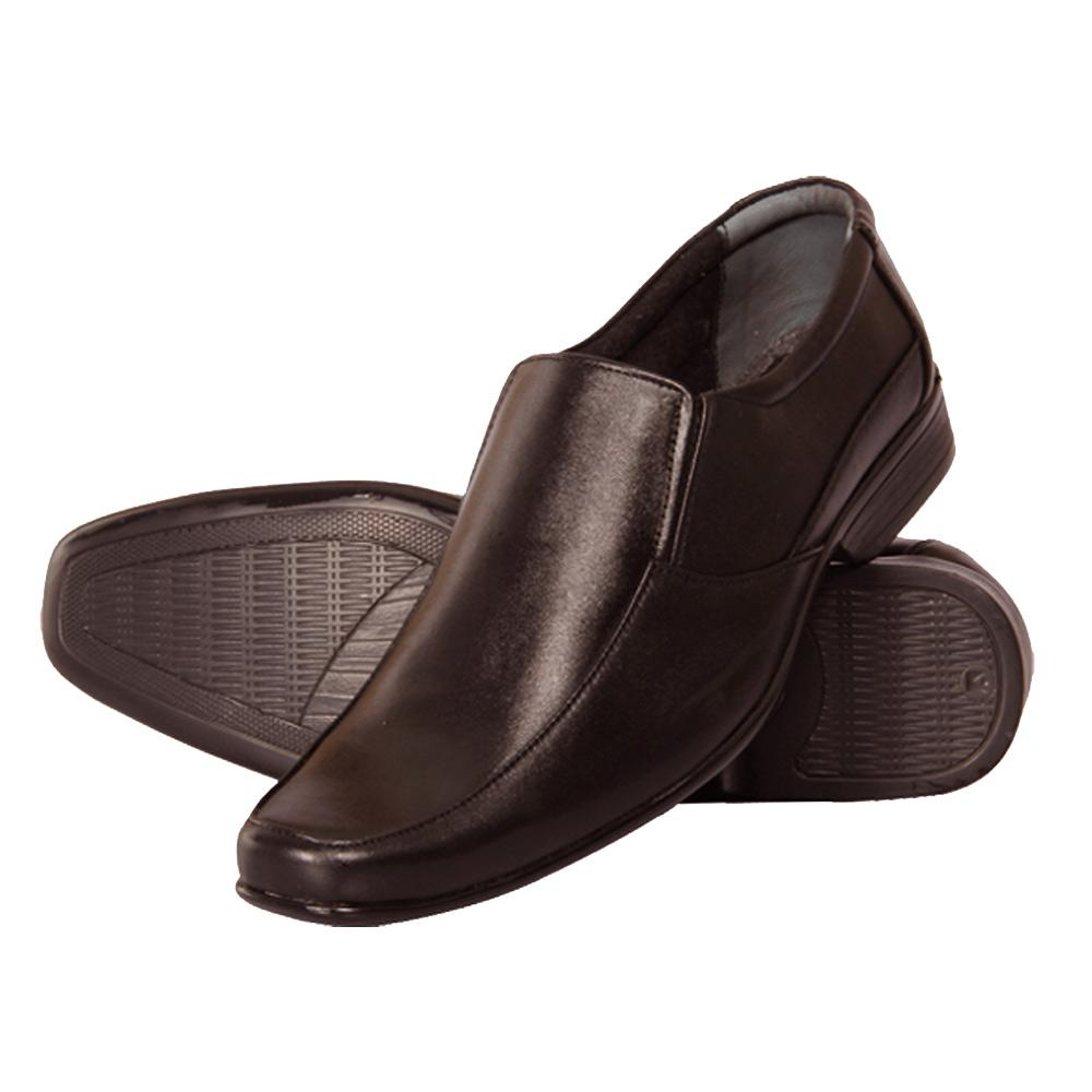 Hidekraft Genuine Leather Mens Formal Shoes, HKMSBR1001 Brown
