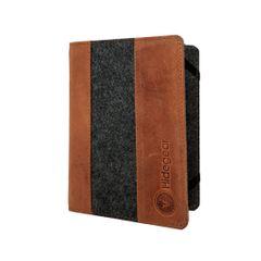 Hidegear Genuine Leather Flip Case Cover for Kindle,HGKCTG0302 Tan