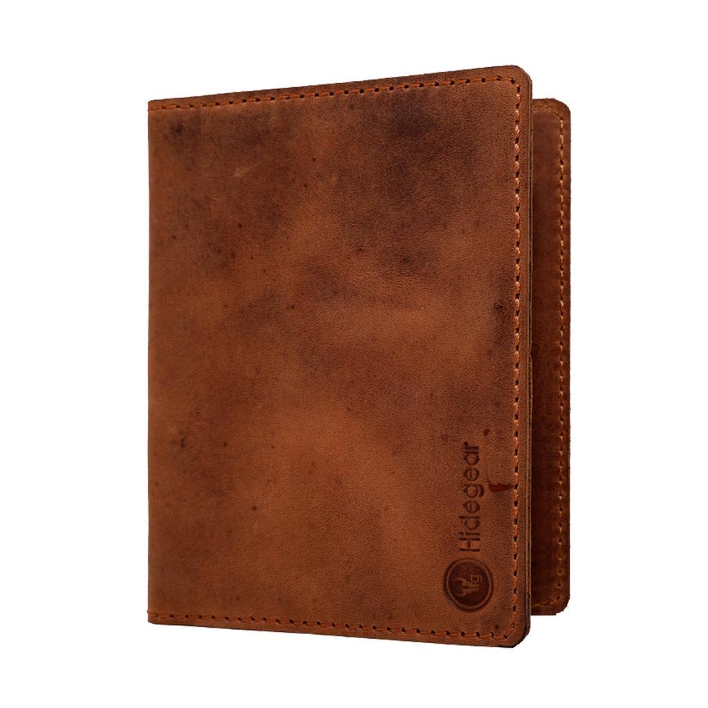 Hidegear Genuine Leather Travel Wallet/Passport Holder , WLTNPP2030H Tan