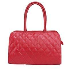 Hidekraft 100% Genuine Leather Handbag For Women, Red
