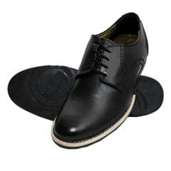 Hidekraft 100% Genuine Leather Formal Shoes for Men, HKMSBL1025 Black