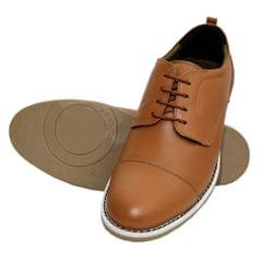 Hidekraft 100% Genuine Leather Formal Shoes for Men, HKMSTN1026 Tan