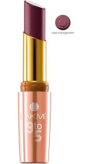 Lakme 9 To 5 Matte Lip Color Rose Management M1 3.6 g