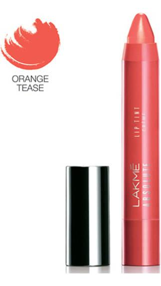 Lakme Absolute Lip Pout Creme Orange Tease Lip Color