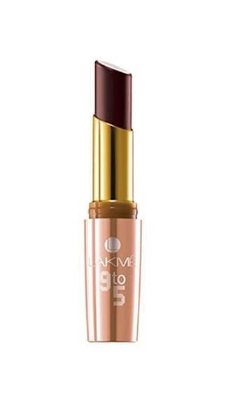 Lakme 9 To 5 Matte Lip Color Burgundy Business MB6 3.6 g