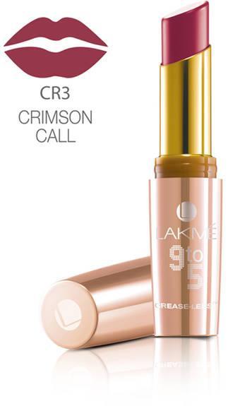 Lakme 9 To 5 Creaseless Creme Lip Color Crimson Call 3.6 g