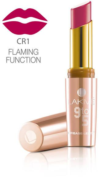 Lakme 9 To 5 Creaseless Creme Lip Color Flaming Function 3.6 g