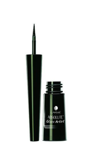 Lakme Absolute Gloss Artist Eye Liner Black 2.5 ml