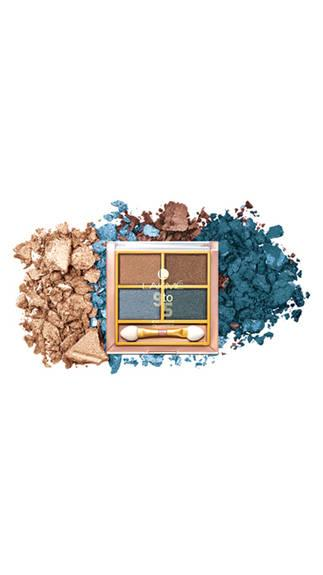 Lakme 9 To 5 Eye Color Quartet Eye Shadow Smokey Glam 7 g