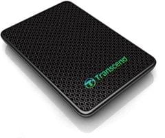 Transcend 256 GB Wired External Solid State Drive(Black)