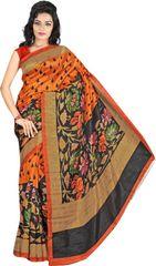 E-Vastram Embellished Bollywood Crepe Sari(Multicolor)