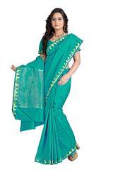 E-Vastram Solid Fashion Tussar Silk Sari(Yellow)