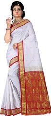 E-Vastram Woven Banarasi Banarasi Silk Sari(Multicolor)