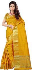 E-Vastram Printed Bollywood Art Silk Sari(Multicolor)