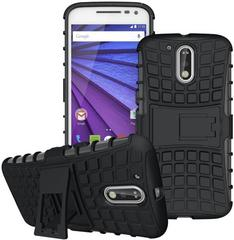 Stylus Shock Proof Case for Motorola Moto G4 Plus