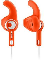 Philips ActionFit Sports Headphones Wired Headset With Mic(Orange)