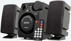 Intex IT-881 U Laptop/Desktop Speaker(Black, 2.1 Channel)