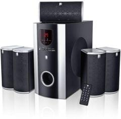 iBall Booster 5.1 USB Home Audio Speaker(Black, 5.1 Channel)