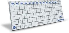 Zebronics Tabmate White Bluetooth Laptop Keyboard(White)