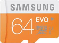 SAMSUNG Evo 64 GB MicroSDXC Class 10 48 MB/sMemory Card